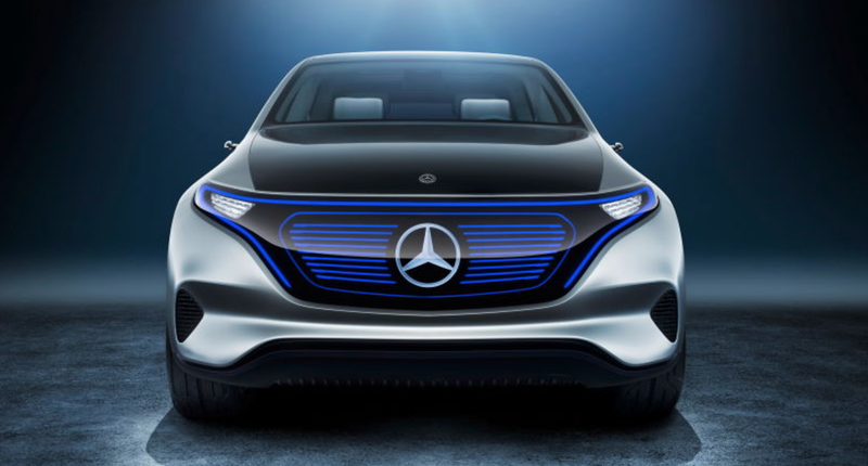 The Mercedes Generation Eq Concept From Paris Motor Show