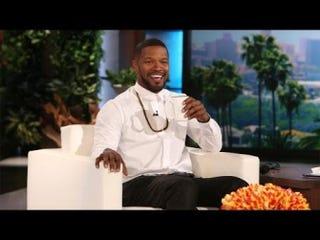 Jamie Foxx onThe Ellen DeGeneres ShowYouTube screenshot