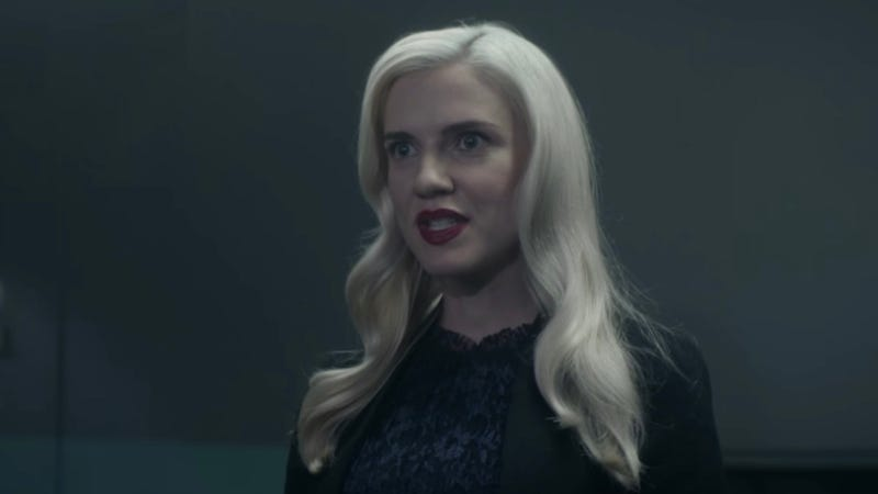 Miss Brixil (Sara Canning) is not to be messed with in Level 16.
