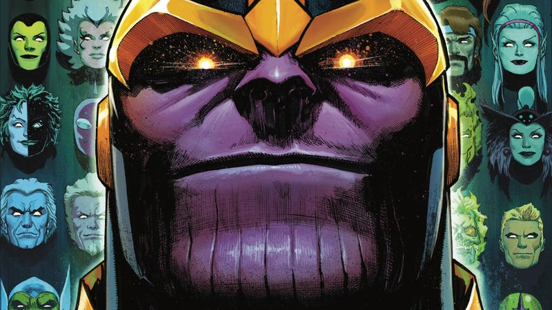 Illustration for article titled The Guardians Of The Galaxy search for the new Thanos in this exclusive