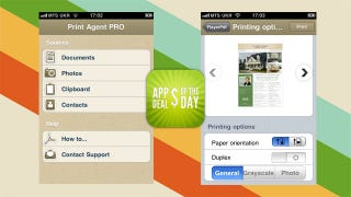 Illustration for article titled Daily App Deals: Get Print Agent PRO for iPhone for $1.99