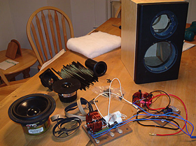 Popular Mechanics Illustrates Step By Step How To Build Your Own Home  Speakers From Start To Finish. The Author Starts With A Speaker Kit That  Costs $369 ...