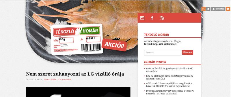 Illustration for article titled Milyen ronda lett szegény Tékozló Homár