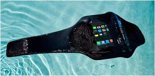 Illustration for article titled AMPHIBX Waterproof Armbands: iPhone 3Gs and Nip-Slips Collide