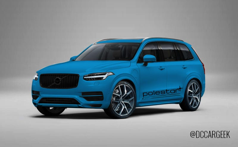 Illustration for article titled 2015 Volvo XC90 Polestar: This could be it