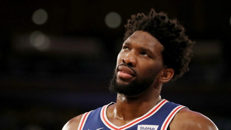 Uh-Oh, Joel Embiid's Knee Might Keep Him Out Of Game 1