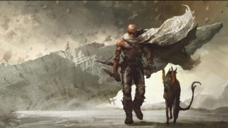 Illustration for article titled Meet Vin Diesel's vicious space hound, in new Riddick 3 concept art