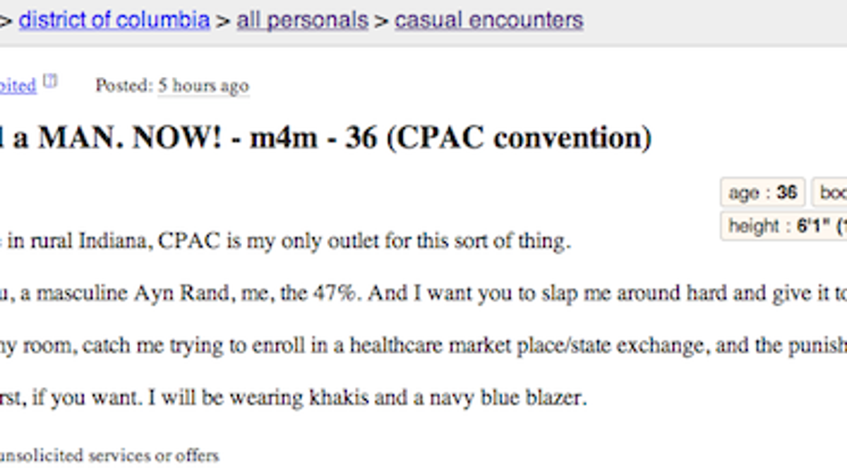 How to write a craigslist casual encounter ad