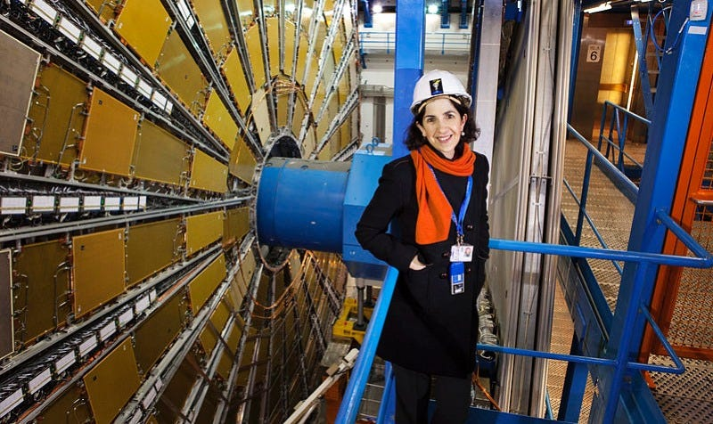 Illustration for article titled Fabiola Gianotti Becomes First Woman Physicist to Take the Reins at CERN