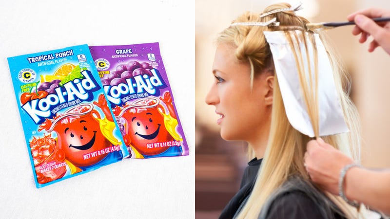 Does Kool Aid Really Work As A Hair Dye