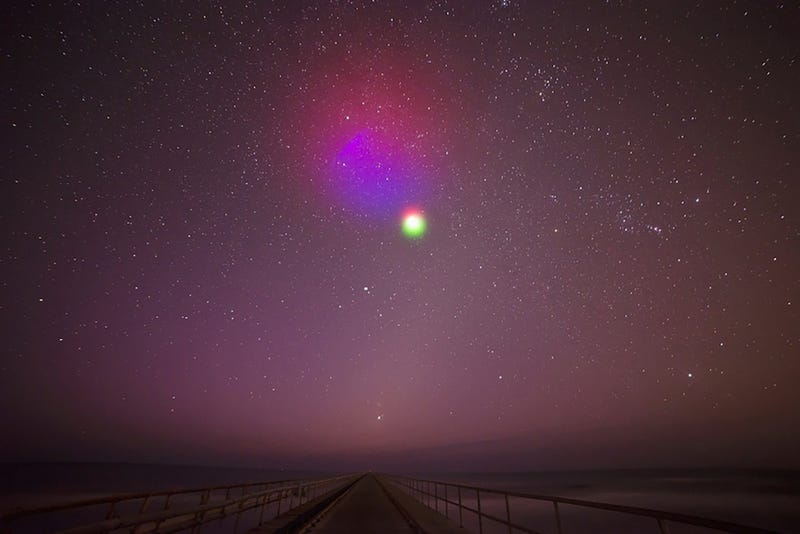 NASA experiment to color the skies over the US East Coast