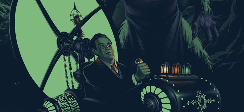 Illustration for article titled Feel the Adventure of H.G Wells' The Time Machine In This Beautiful New Poster