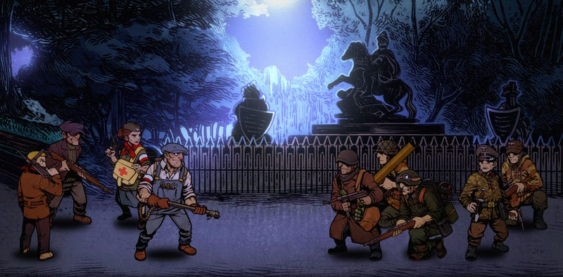 Illustration for article titled WARSAW Looks To Bring Darkest Dungeon To The Second World War