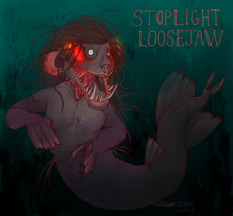 These Bioluminescent Deep-Sea Mermaids Are Utterly Terrifying