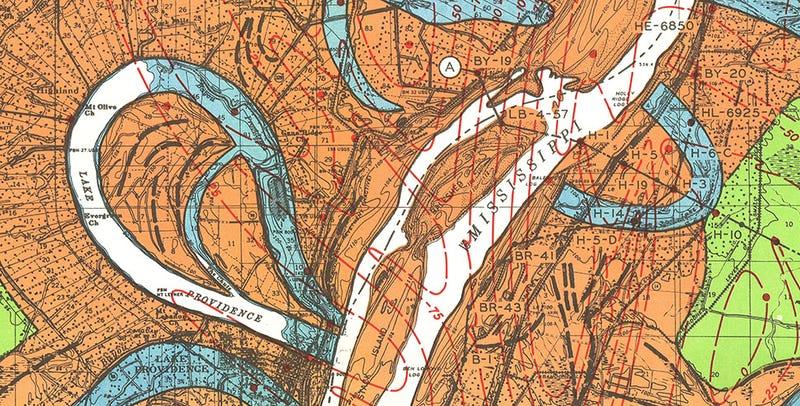 Illustration for article titled The Mississippi River Is A Land-Making Machine: Dredgefest 2014