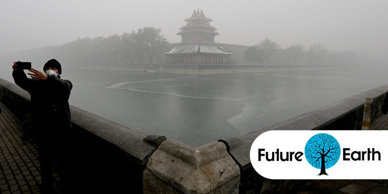 Illustration for article titled In Pictures: China Is Enveloped In Thick and Dangerous Smog
