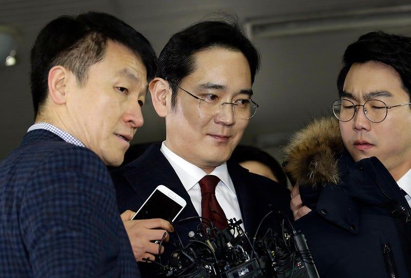 El Vicepresidente de Samsung, Lee Jae-yong, en una reciente rueda de prensa. Foto: AP