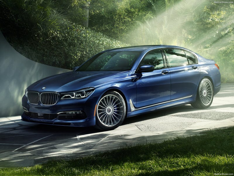 Illustration for article titled Alpina BMW B7 xDrive