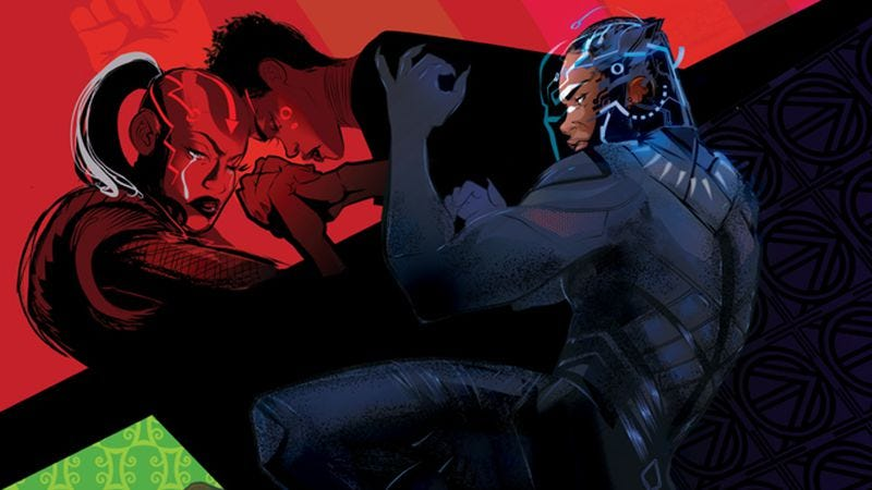 Illustration for article titled Roxane Gay's Black Panther prequel gives women a story in the World Of Wakanda