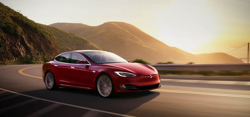 The Tesla Model S, which uses cobalt in its battery cells. Image: Tesla