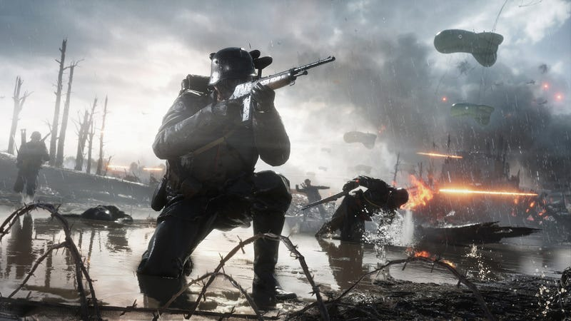 Illustration for article titled Battlefield 1Trial Goes Live One Day Early