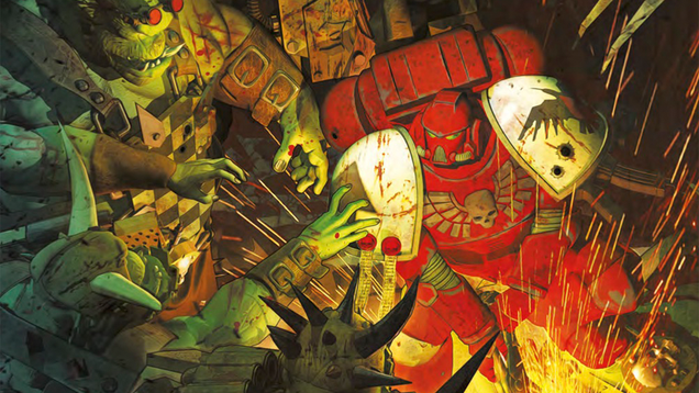 space war is space hell in the new warhammer 40k dawn of war comic