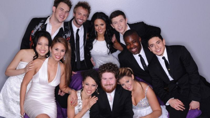 "Illustration for article titled American Idol: ""11 Finalists Compete (Again)"""