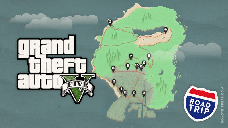 Gta 5 Hookers Location Take a Road Trip to GT...
