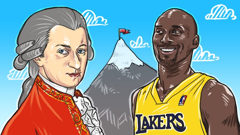 Illustration for article titled What Mozart and Kobe Bryant Can Teach Us About Deliberate Practice