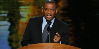 Charlotte Mayor Anthony Foxx speaks at the 2012 Democratic National Convention. (Alex Wong/Getty Images News)