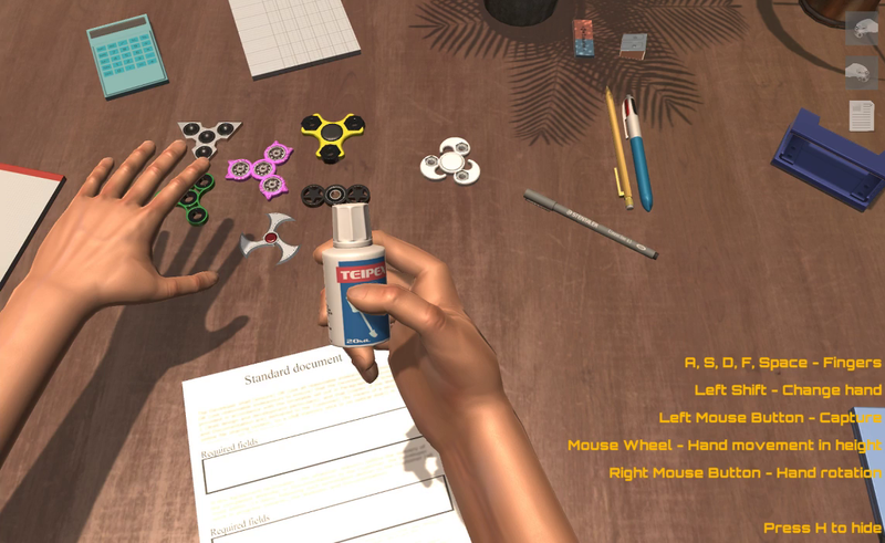 Illustration for article titled Hand Simulator Will Make You Hate Hands