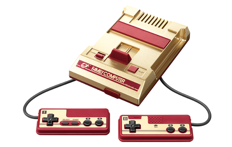 Illustration for article titled Special Gold-Colored Famicom Mini Coming To Japan