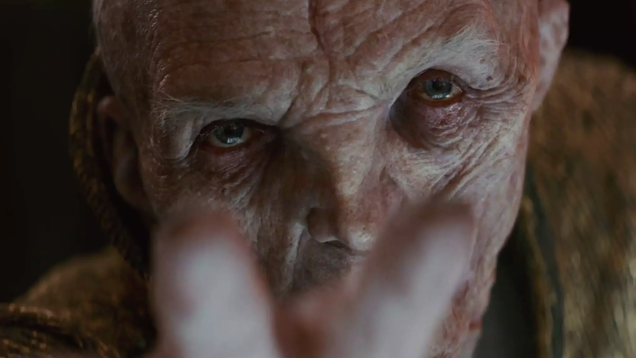 The Last Jedi s VFX Supervisors Shed Light On The Complex Process of Bringing Snoke to Life