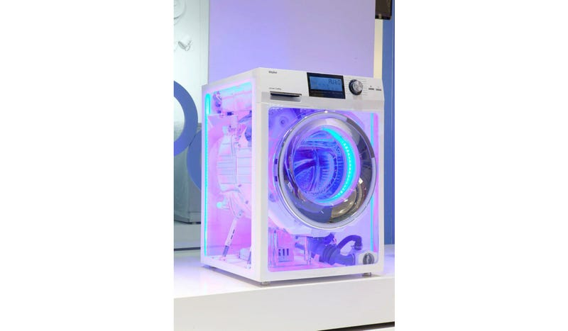 Illustration for article titled This Insane Transparent Washer Is Already the Best Vaporware of 2013