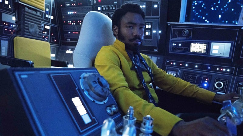 Lando, WTF do you have on your Falcon?