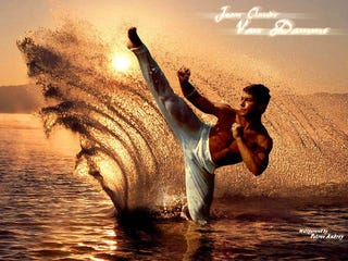 """Illustration for article titled Van Damme Takes """"Kickboxer"""" Sequel Pitch A Bit Too Literally"""