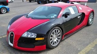 Illustration for article titled Bugatti Veyron Traded In For Corvette ZR1: Vehicle Photos