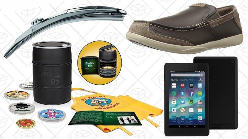 Illustration for article titled Today's Best Deals: Fire HD 6, Wiper Blades, Breaking Bad, and More