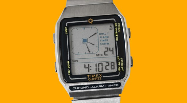 I Miss the Wild West Days of Digital Watches With All the Features