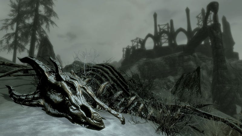 Illustration for article titled Skyrim's DLC Is Coming To PS3 Next Month