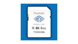 Illustration for article titled Toshiba's Wireless SD Goes Both Ways