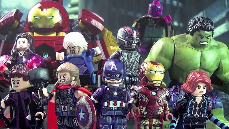Illustration for article titled These customized Avengers Lego Minifigs are incredibly detailed