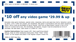 Illustration for article titled $10 Off $30+ Video Games at Best Buy