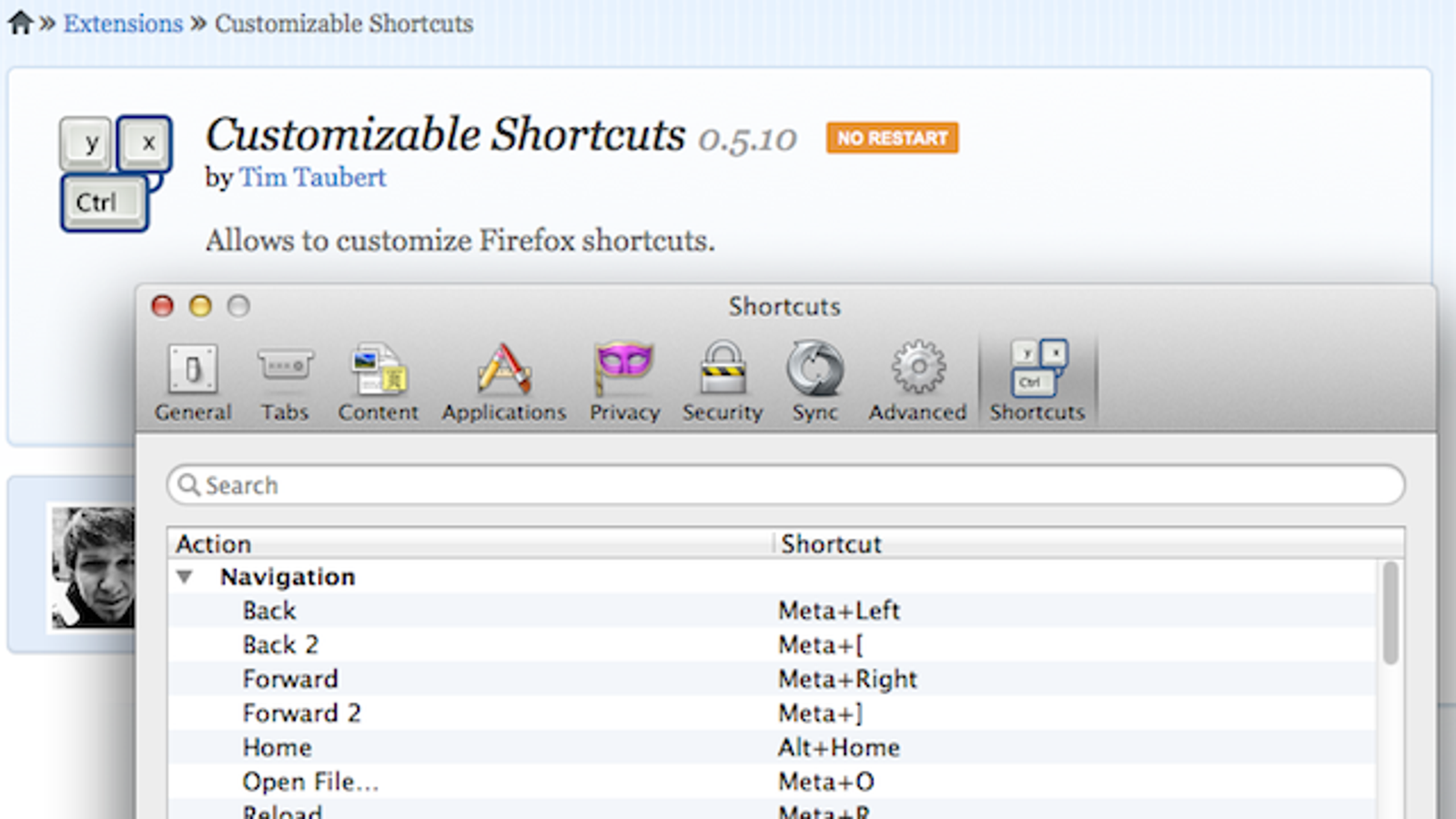 Customizable Shortcuts for Firefox Lets You Create Key Commands for