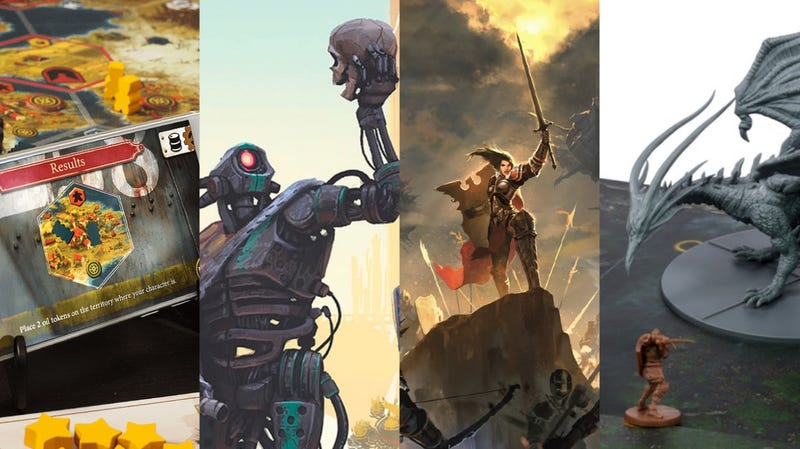 Some looks at Dized, Mutant: Year Zero, Unity, and Dark Souls: The Board Game.