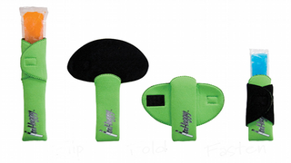 Illustration for article titled IceHuggy KOOZIE-LIKE HOLDERS Keep Your Hands Warm and Your Ice Pops Frozen Solid