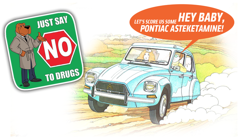 Illustration for article titled Ten Automotive-Themed Street Drugs You Should Be Aware of That I Probably Made Up