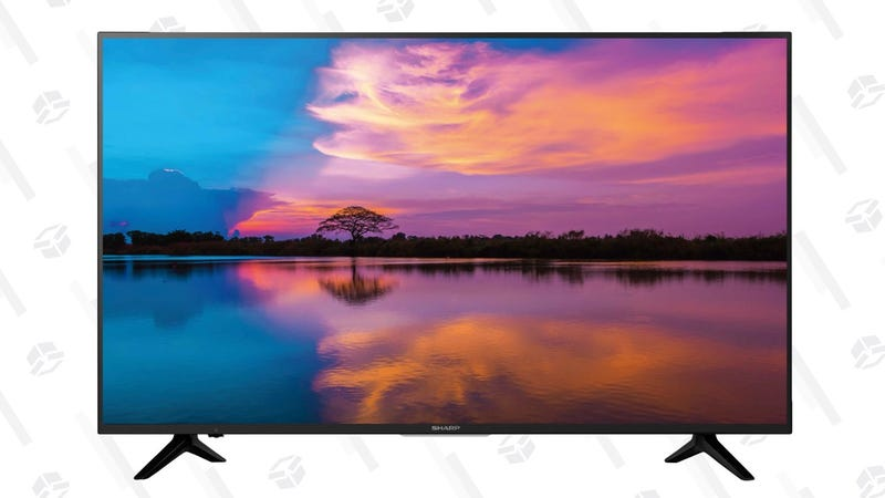 "Sharp 50"" 4K Smart TV 