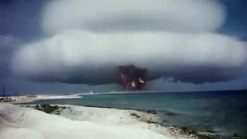 What Do Nuclear Bomb Explosions Sound Like?