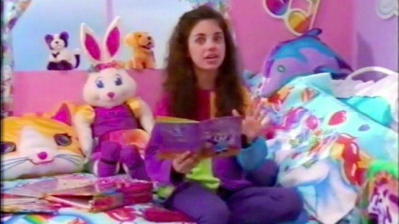 Yep, that's Mila Kunis. (Screenshot: YouTube)